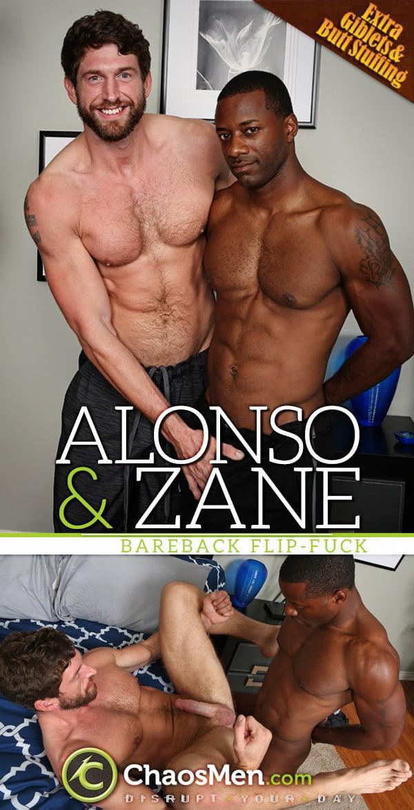 Alonso & Zane (Bareback Flip-Fuck) at ChaosMen