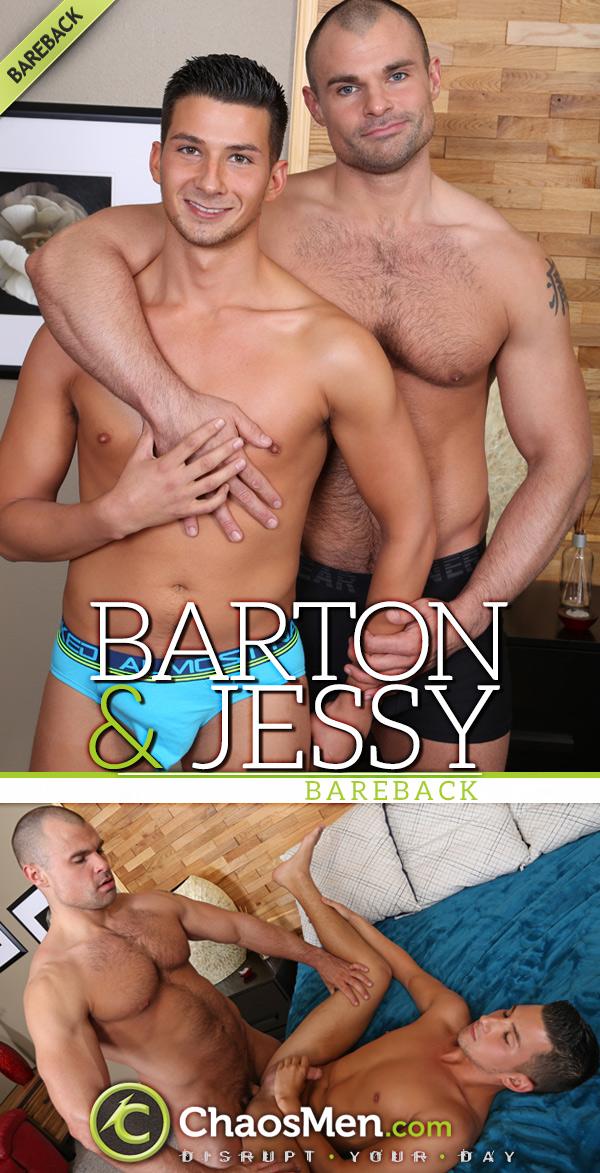 Barton Fucks Jessy (Bareback) at ChaosMen
