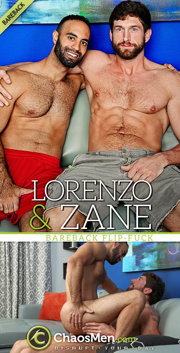 Lorenzo & Zane (Bareback Flip-Fuck) at ChaosMen