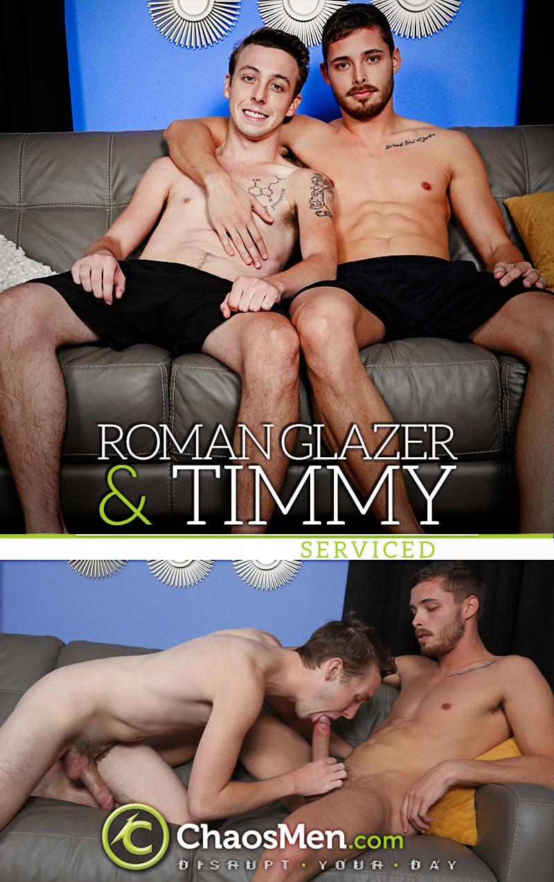 Roman Glazer & Timmy (Serviced) at ChaosMen