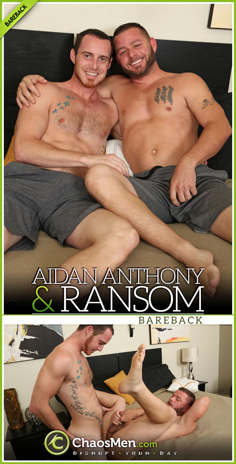 Aidan Anthony Fucks Ransom at ChaosMen