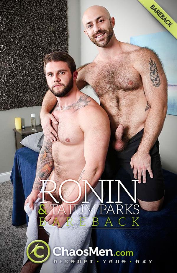 Ronin Fucks Tatum Parks (Bareback) at ChaosMen