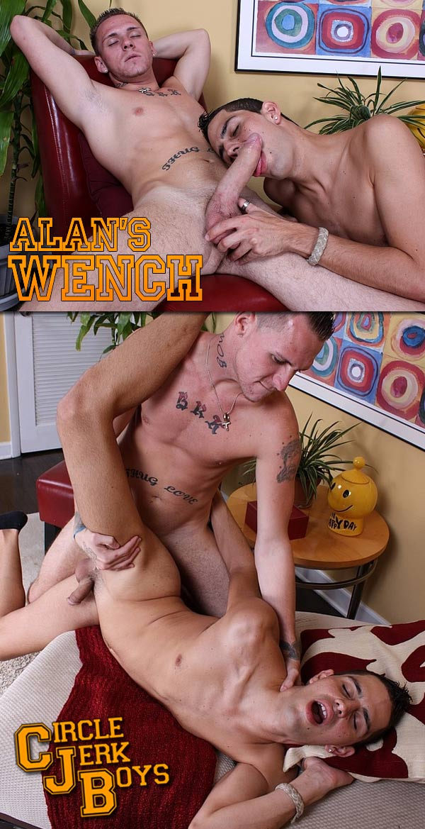 Jessie Alan & Troy Montgomery (Alan's Wench) at CircleJerkBoys