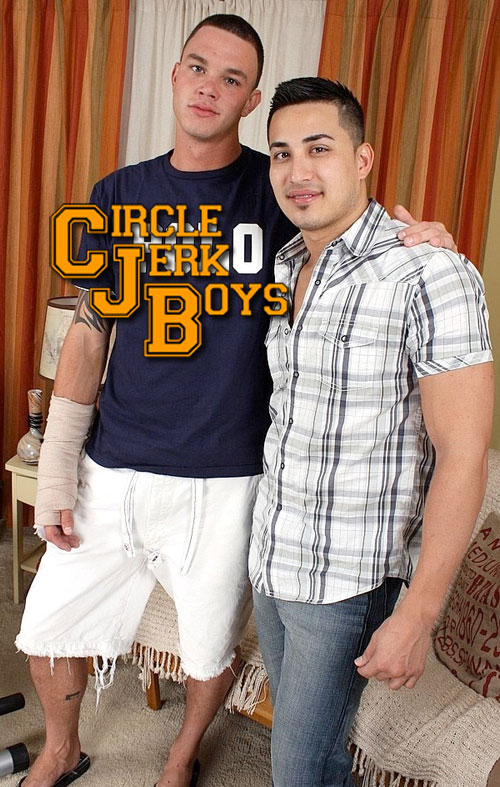 Cliff Jensen & Hunter Vance at CircleJerkBoys