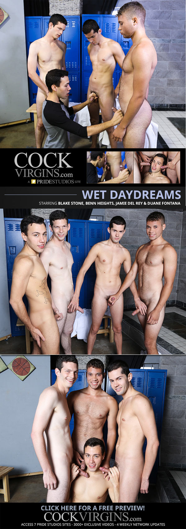 Wet Daydreams (Blake Stone, Benn Heights, Jamie Del Ray & Duane Fontana) at CockVirgins