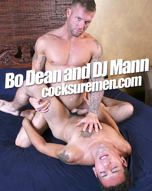 Garden Blower (with Bo Dean & DJ Mann) at CocksureMen.com