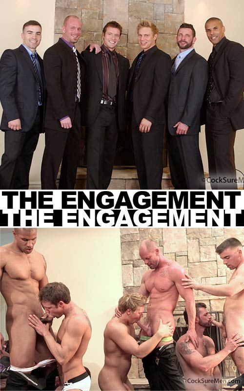 The Engagement Part 1: The Party at CocksureMen.com
