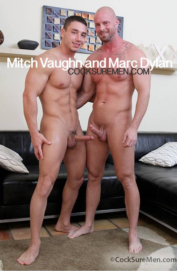 Mitch Vaughn & Marc Dylan at CocksureMen.com
