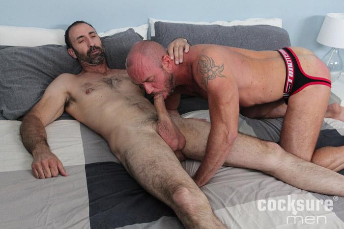 Steven Richards & Matt Stevens (Bareback) at CocksureMen.com