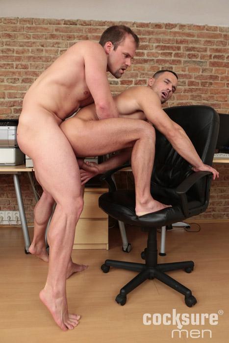 Jack Braver & Andy West (Bareback) at CocksureMen.com