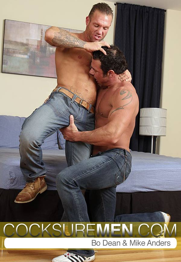 Bo Dean & Mike Anders at CocksureMen.com