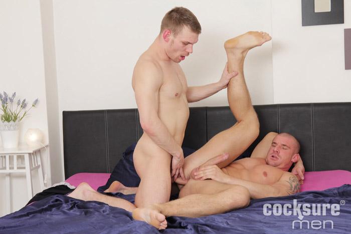 Drago Lambert & Max Bourne (Barebacks) at CocksureMen.com