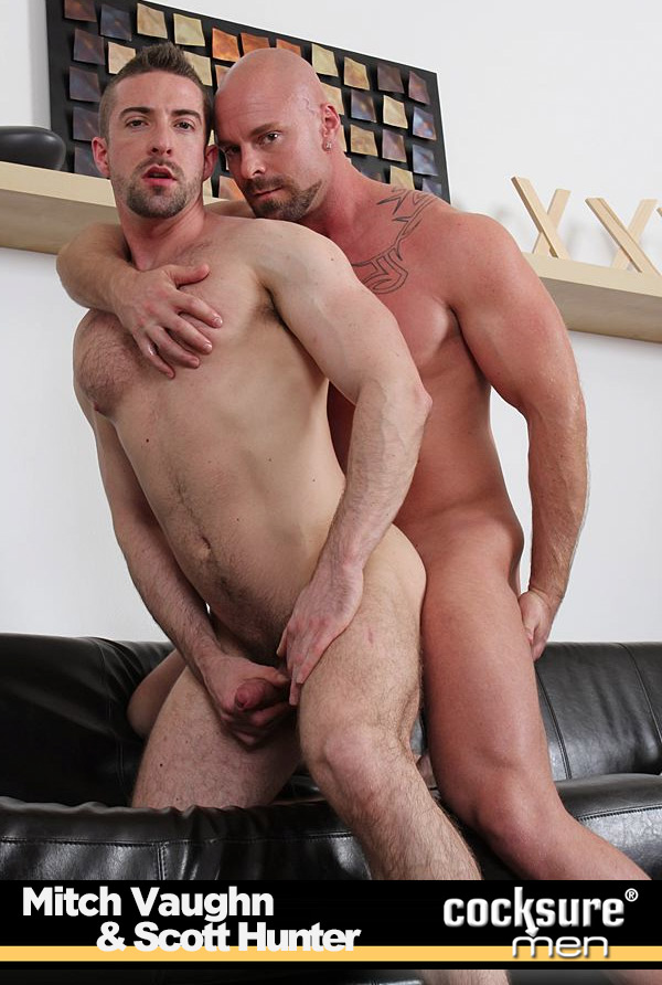 Mitch Vaughn & Scott Hunter at CocksureMen.com