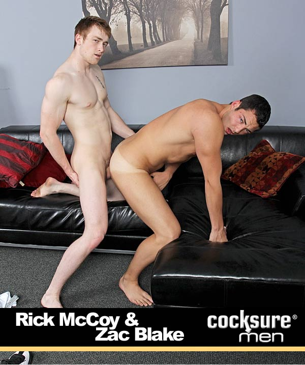 Think Fast (Rick McCoy and Zac Blake) at CocksureMen.com