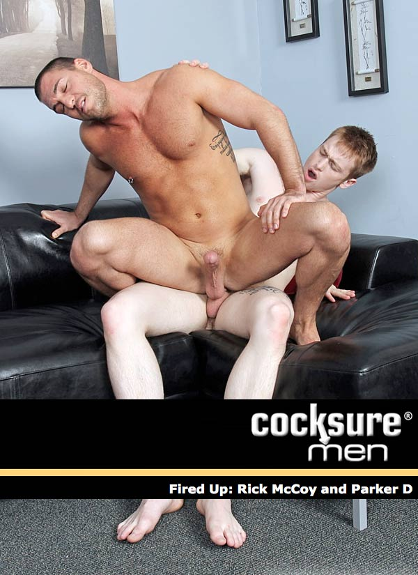 Fired Up (Rick McCoy and Parker D) at CocksureMen.com
