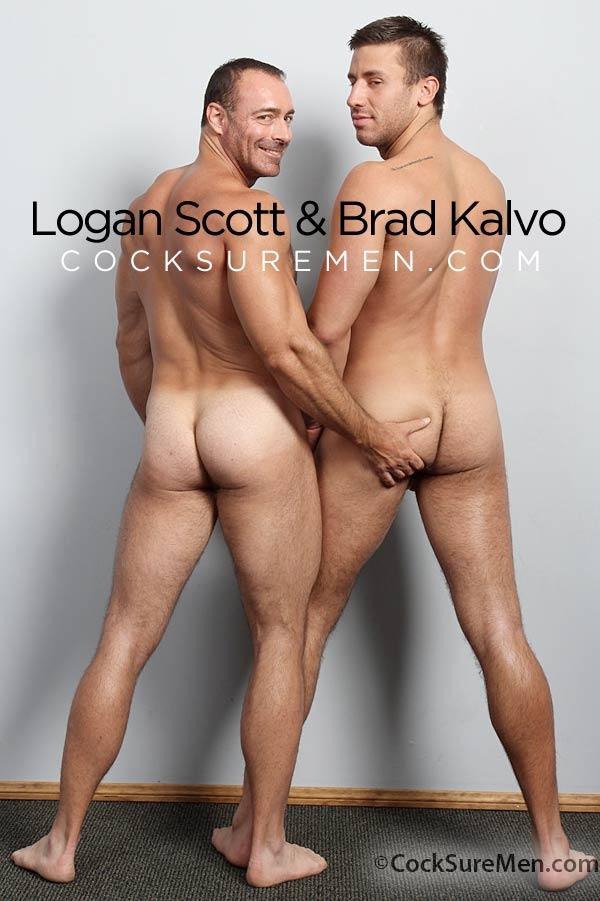 Logan Scott and Brad Kalvo at CocksureMen.com