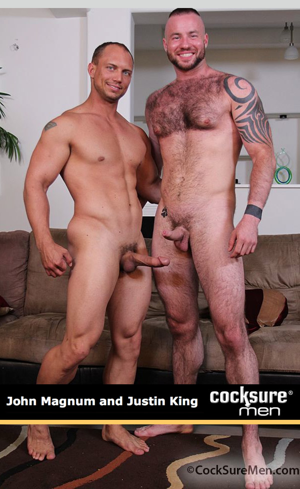 John Magnum & Justin King at CocksureMen.com
