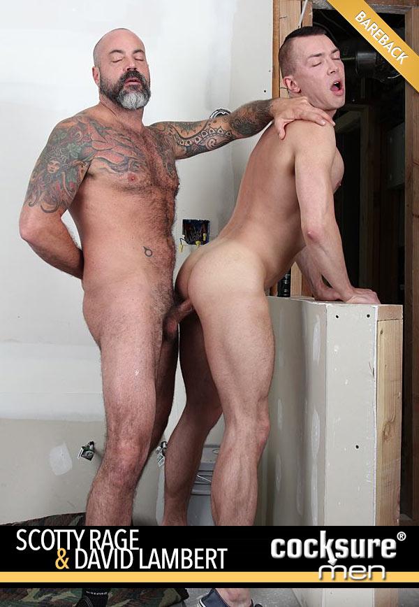 Scotty Rage & David Lambert (Bareback) at CocksureMen.com