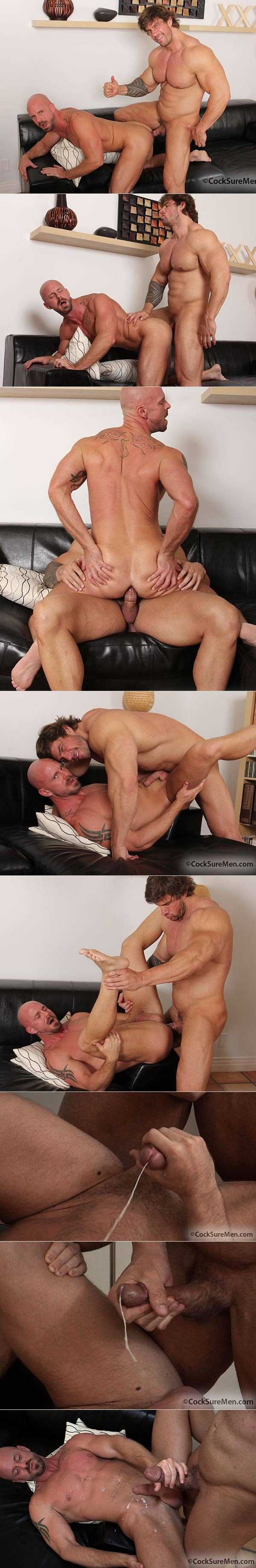Zeb Atlas & Mitch Vaughn at CocksureMen.com