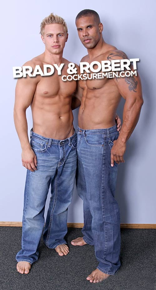 Brady Jensen & Robert Axel at CocksureMen.com