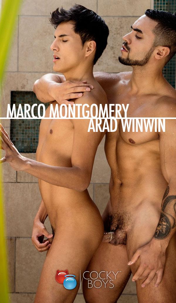 Arad Winwin Dominates Marco Montgomery at CockyBoys.com