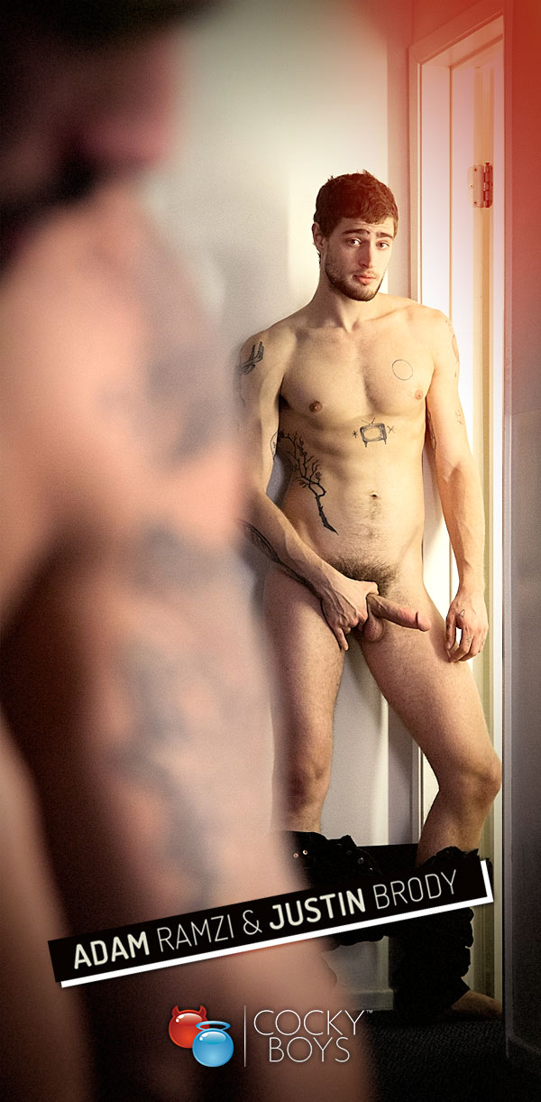 Newcomer Justin Brody Fucks Adam Ramzi at CockyBoys.com