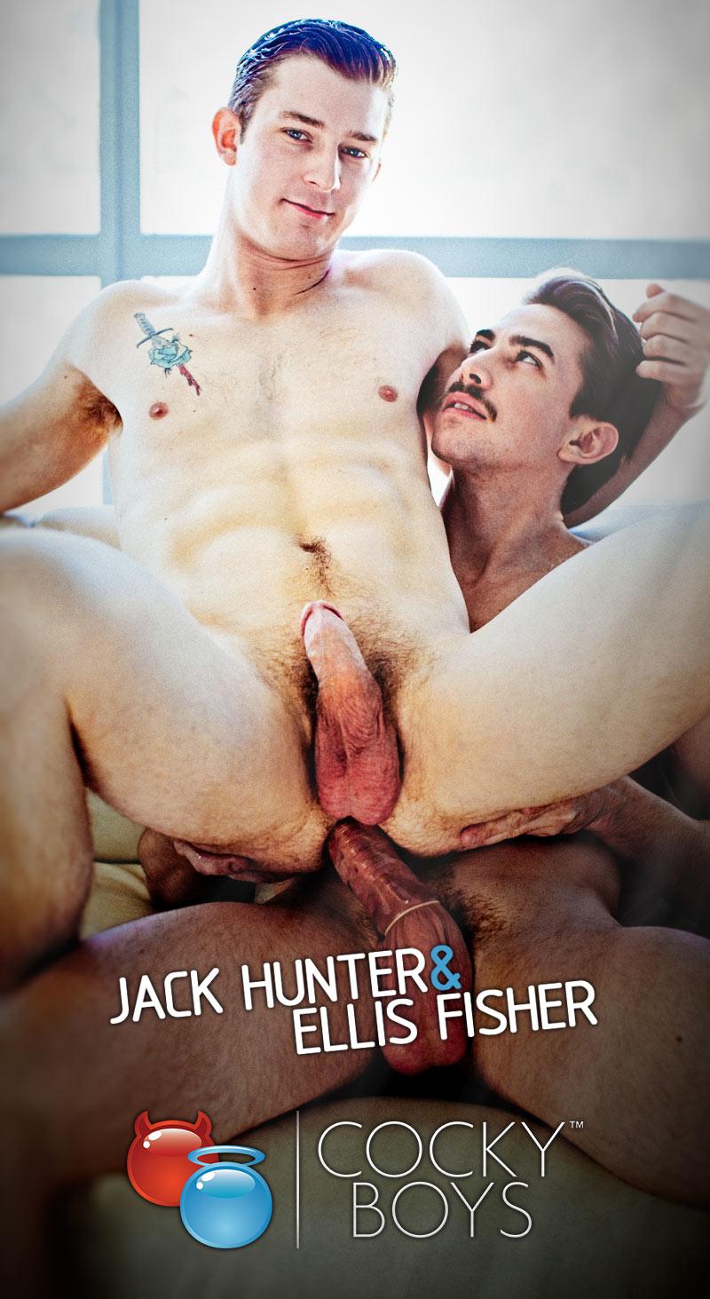 Jack Hunter Fucks Ellis Fisher at CockyBoys.com