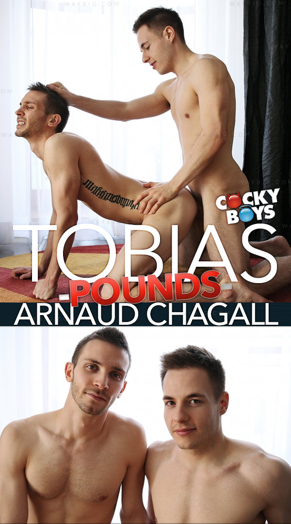 Tobias Pounds Arnaud Chagall at CockyBoys.com