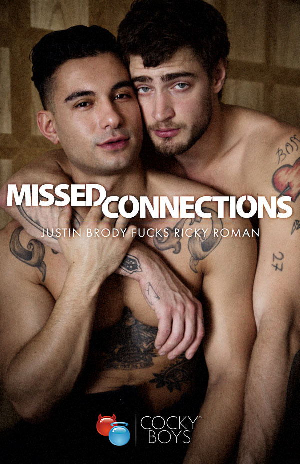 Missed Connections (Justin Brody Fucks Ricky Roman) at CockyBoys.com