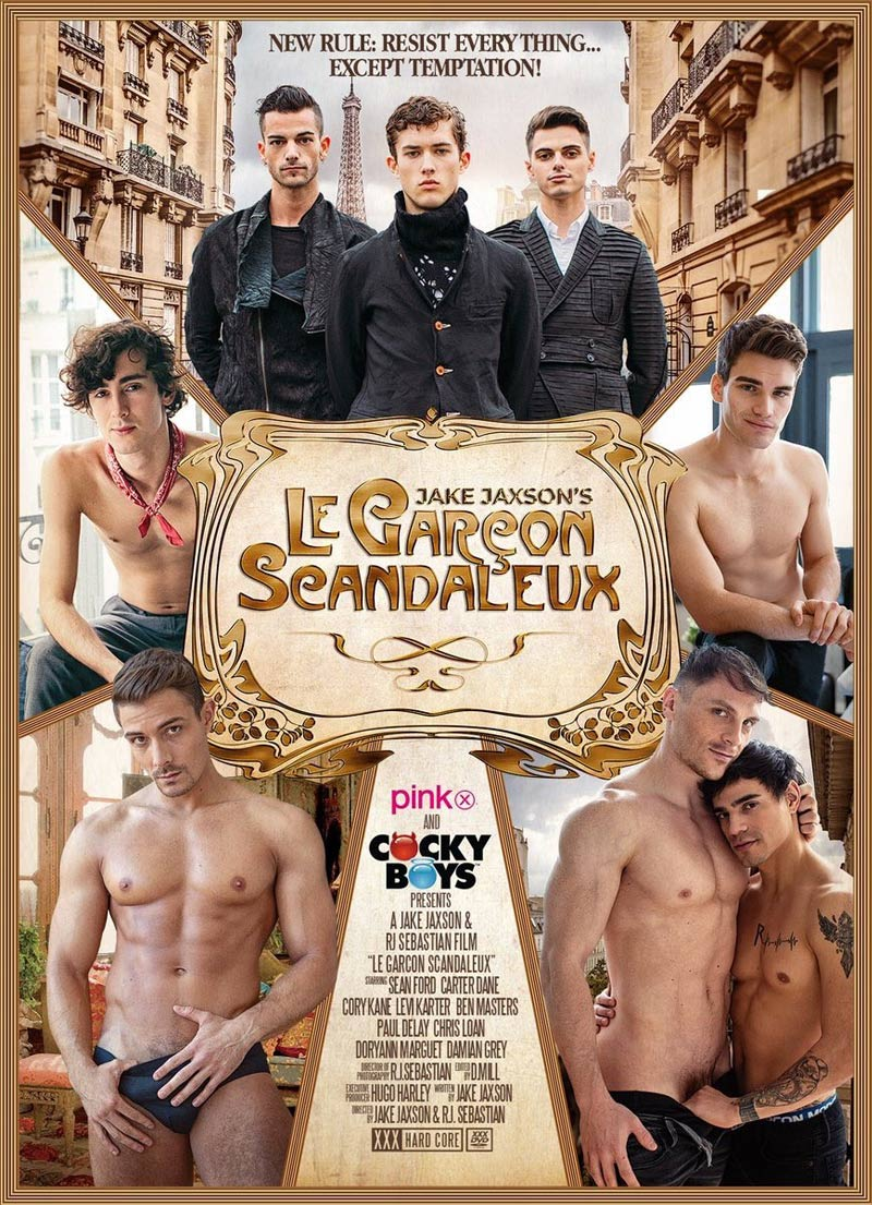 Le Garçon Scandaleux, Part One (with Ben Masters, Carter Dane, Paul Delay and Sean Ford) at CockyBoys.com