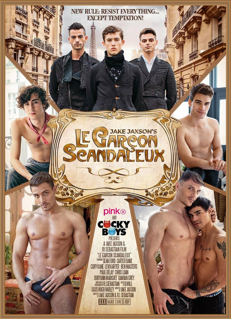 Le Garçon Scandaleux, Part Two (with Cory Kane & Damian Grey) at CockyBoys.com