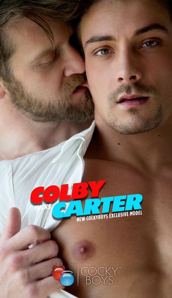 Colby Keller Fucks Carter Dane at CockyBoys.com