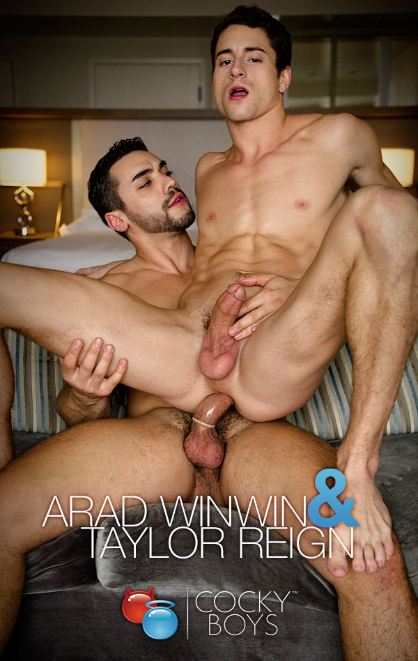 Arad WinWin Fucks Taylor Reign! at CockyBoys.com