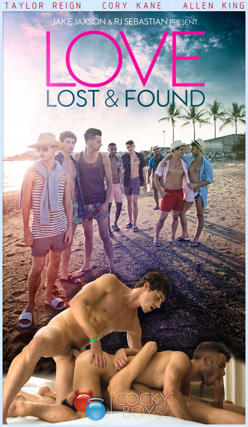 Love Lost & Found (Taylor Reign, Cory Kane and Allen King) at CockyBoys.com