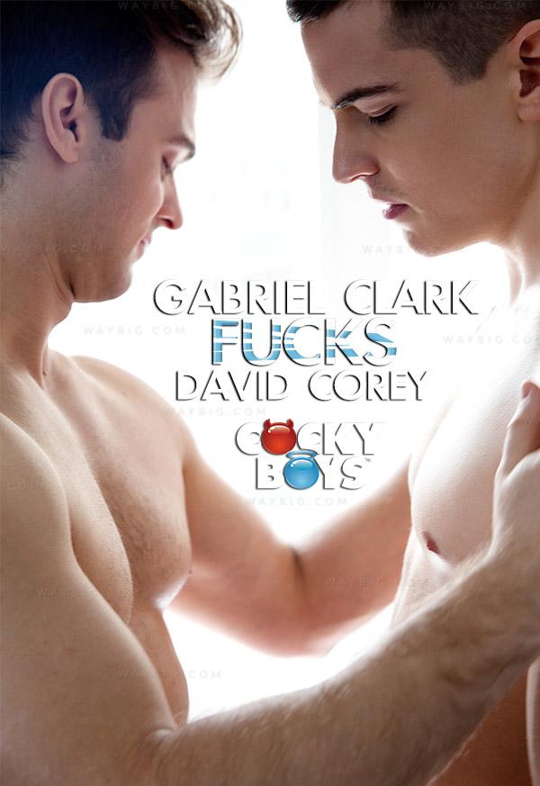 Gabriel Clark Fucks David Corey! at CockyBoys.com