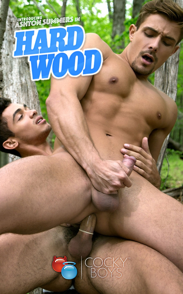 Hard Wood (Introducing Ashton Summers with Carter Dane!) at CockyBoys.com