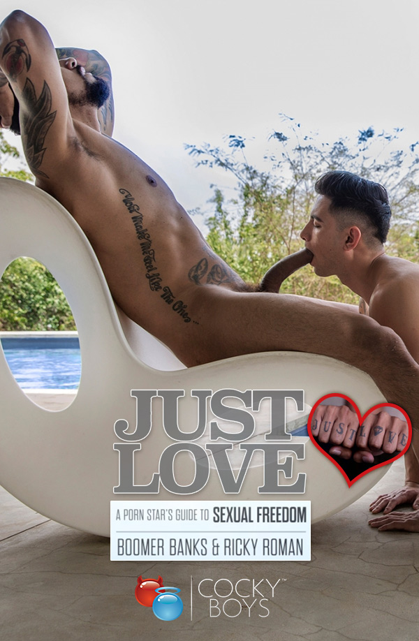 Just Love (Boomer Banks Fucks Ricky Roman) at CockyBoys.com