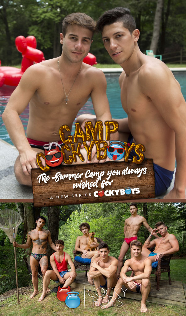 Camp CockyBoys (Allen King Fucks Danny Montero) (Scene 2) at CockyBoys.com