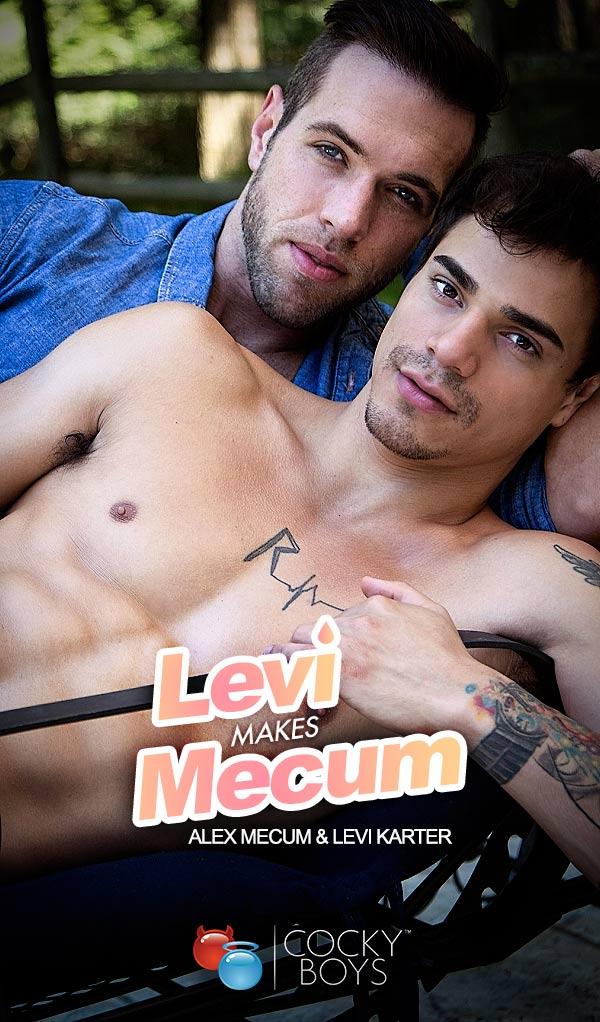 Levi Makes Mecum (Alex Mecum Fucks Levi Karter) at CockyBoys.com