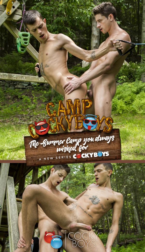 Camp CockyBoys (Taylor Reign Fucks Frankie V) (Scene 4) at CockyBoys.com