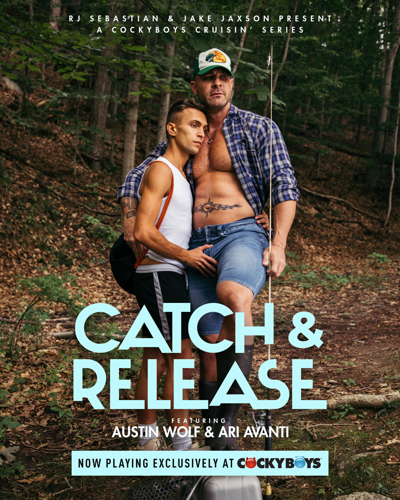 Catch and Release Part 1 - Austin Wolf and Ari Avanti Cover