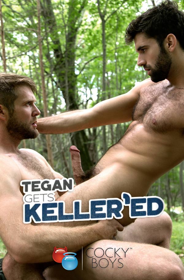 Tegan Gets Keller'ed (Colby Keller Fucks Tegan Zayne) at CockyBoys.com