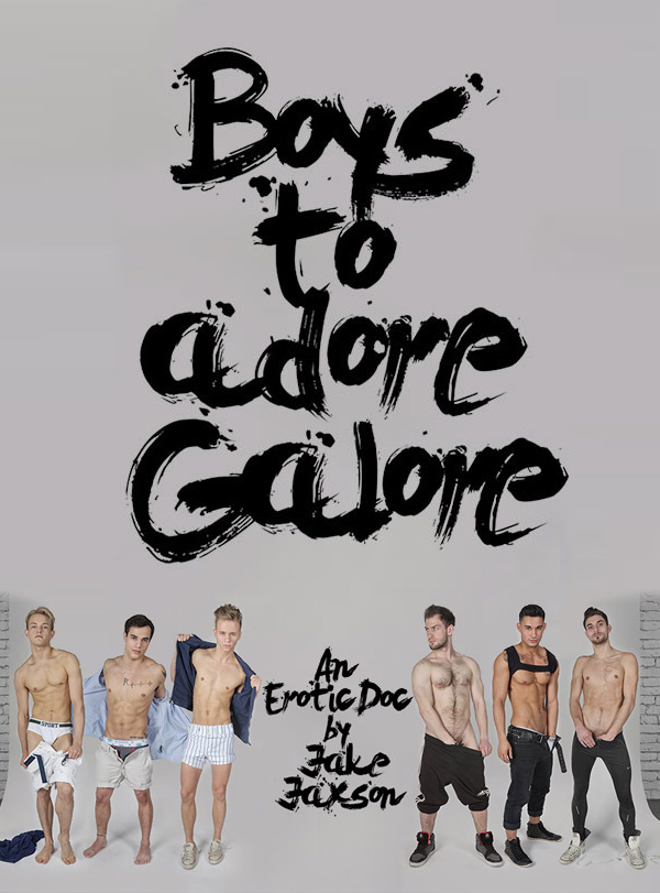 Boys To Adore Galore (Bravo Delta, Dillon Rossi, Max Ryder, Levi Karter, Jett Black, JD Phoenix, and Ricky Roman) at CockyBoys.com