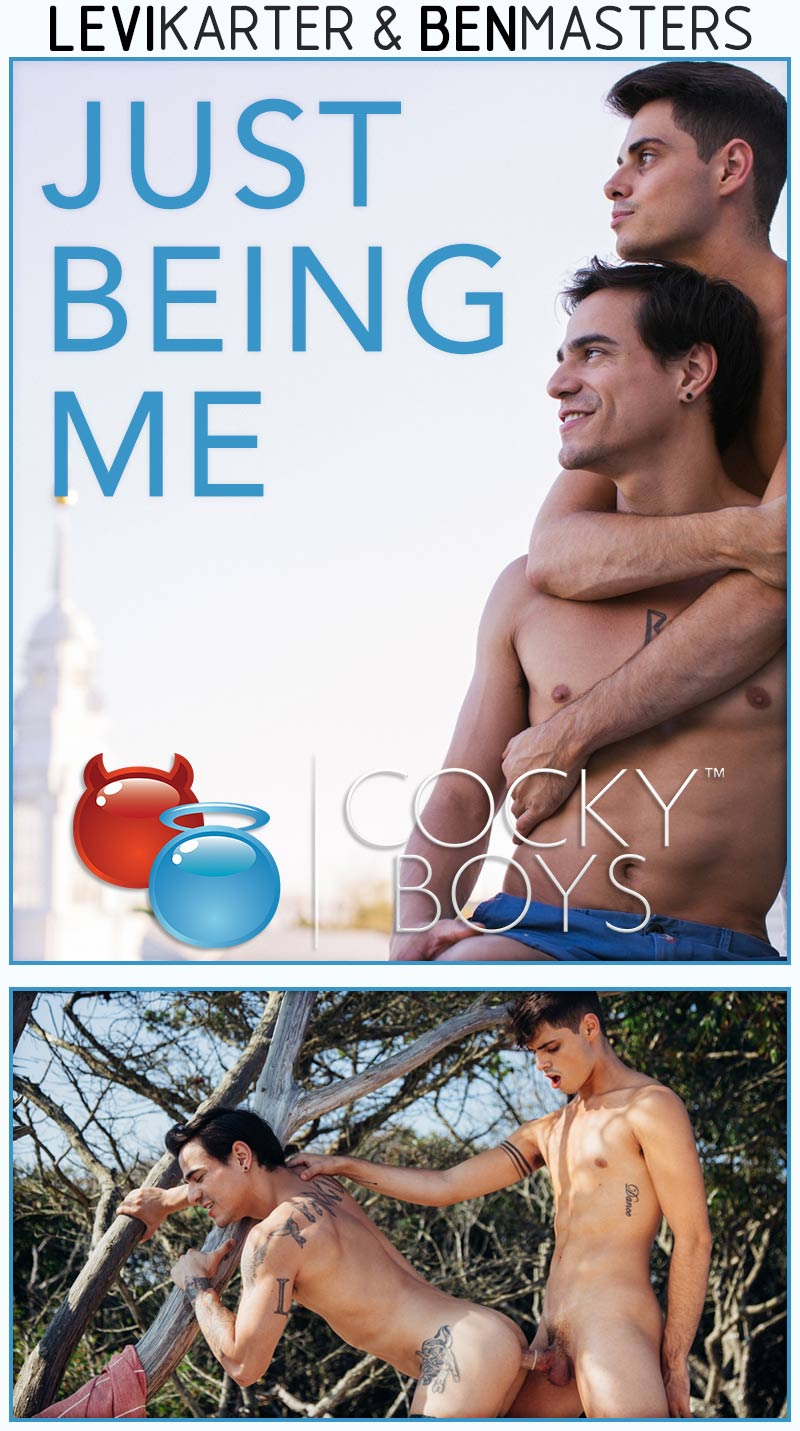Just Being Me (Ben Masters and Levi Karter) at CockyBoys.com