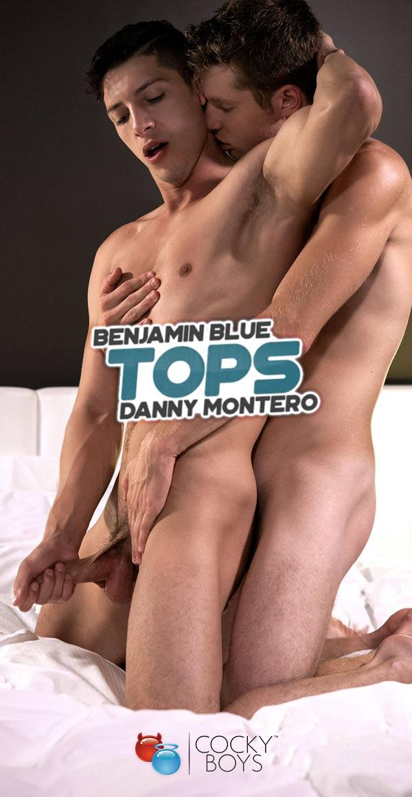 Benjamin Blue Tops Danny Montero at CockyBoys.com