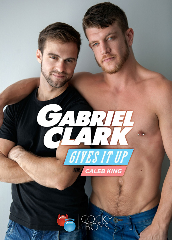 Caleb King and Gabriel Clark Flip-Fuck at CockyBoys.com