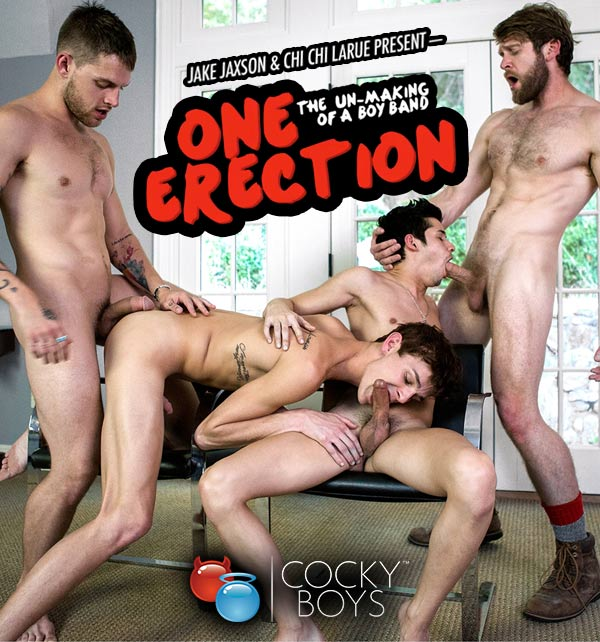 One Erection Finale: It's Madness (Allen King, Colby Keller, Kody Stewart, Levi Karter, Liam Riley & Tayte Hanson) at CockyBoys.com