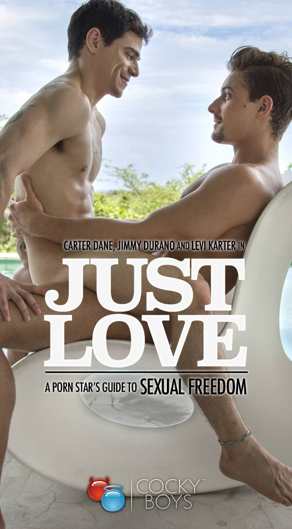 Just Love 4 (Carter Dane, Jimmy Durano & Levi Karter) at CockyBoys.com