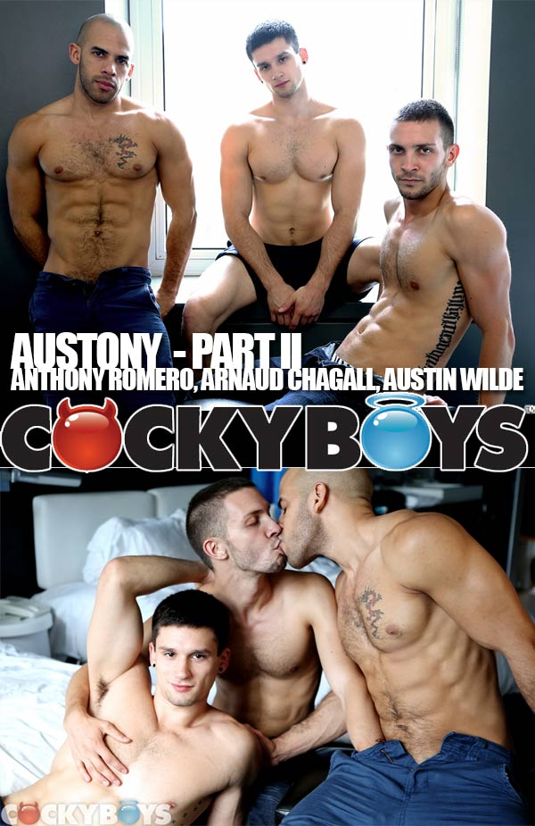 AUSTONY (Part II) (Three is the Perfect Number) at CockyBoys.com