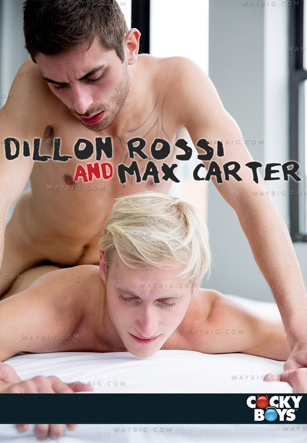 Dillon Rossi Rails Max Carter! at CockyBoys.com